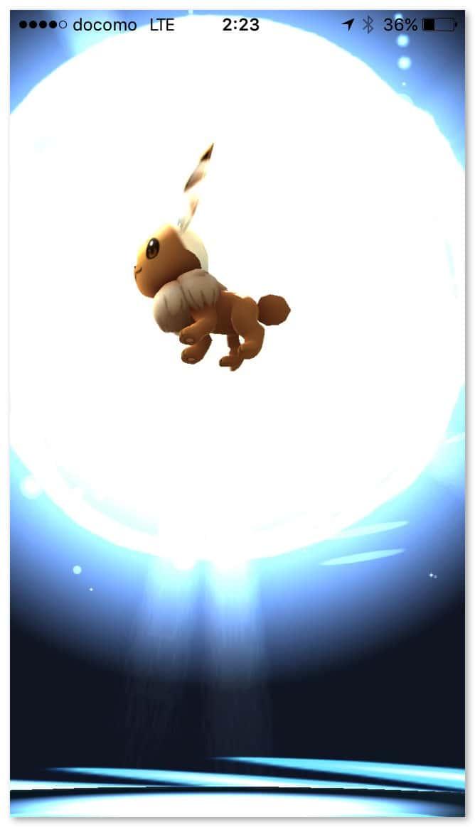 Pokemongo evolve eevee 7