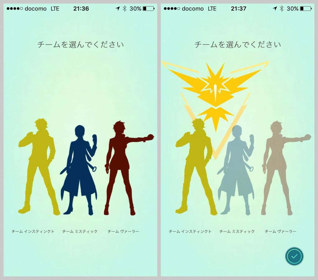 Pokemongo team color 12