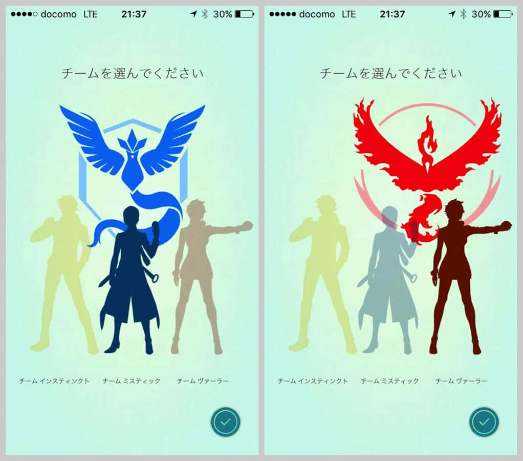 Pokemongo team color 13