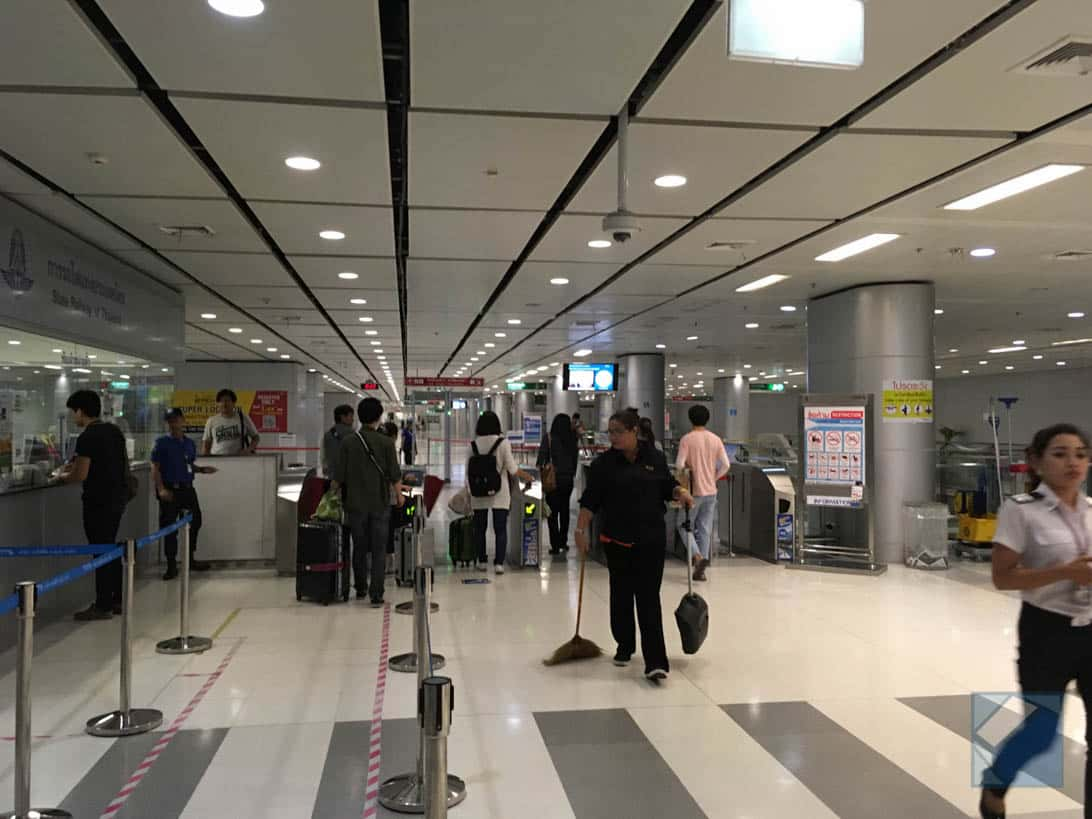 Suvarnabhumi airport to bangkok city 2