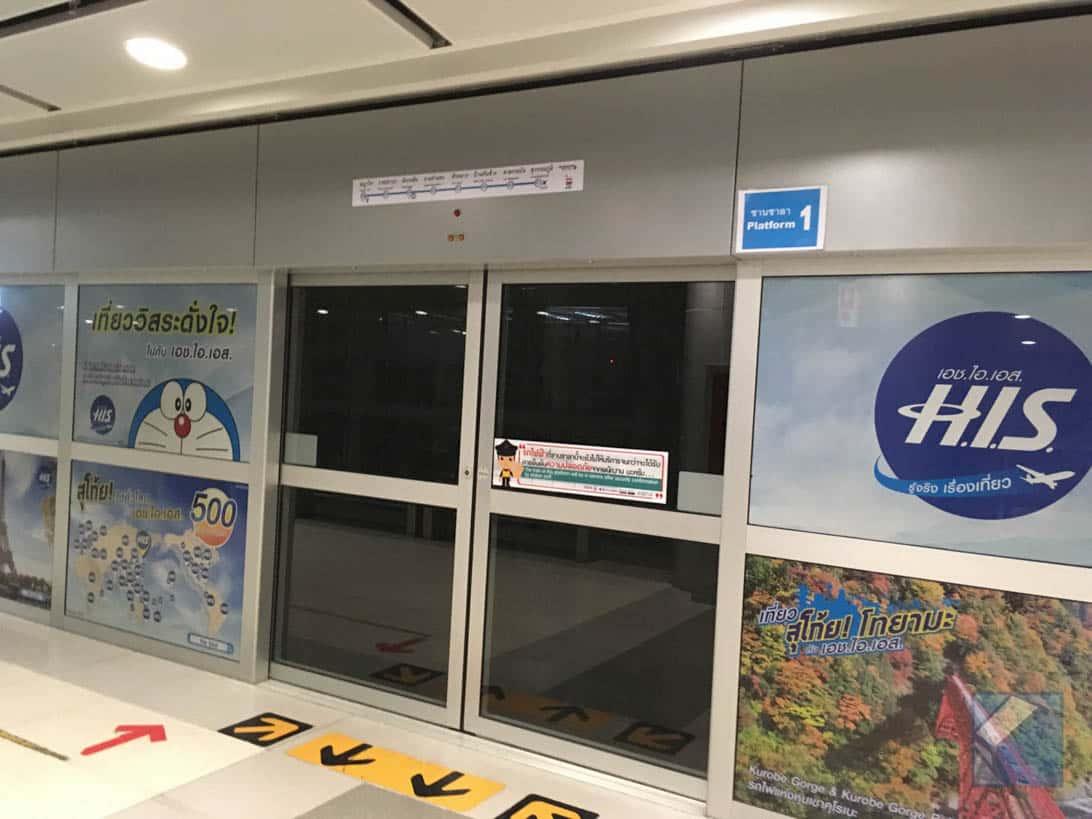 Suvarnabhumi airport to bangkok city 3
