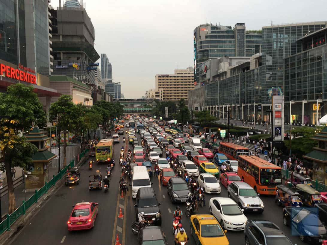 Suvarnabhumi airport to bangkok city 7