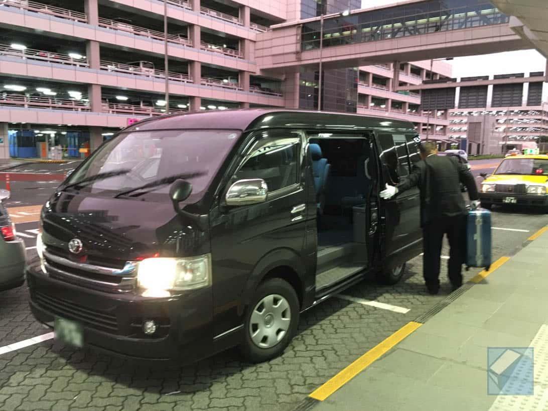 Uber haneda to tokyo 7