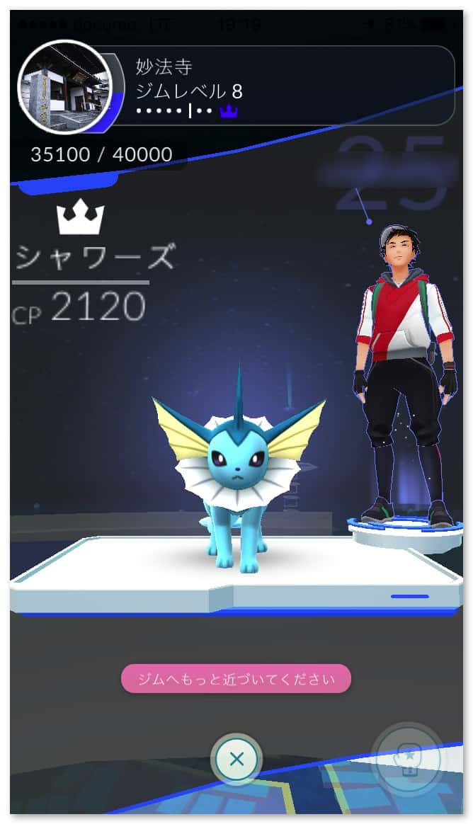 Pokemongo gym training 3