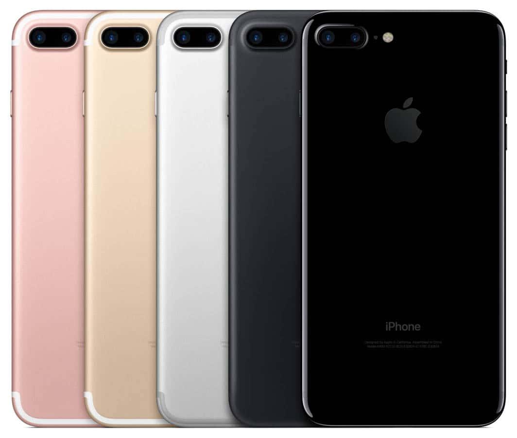 iPhone 7 Plus ラインナップ