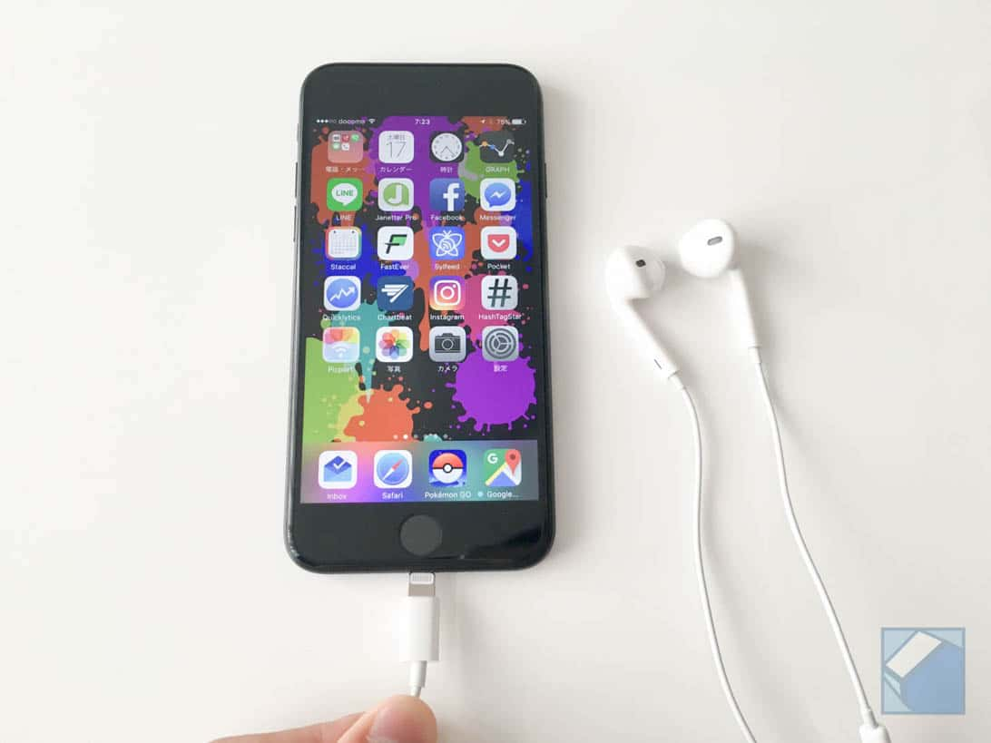 Iphone 7 lightning earpods 4