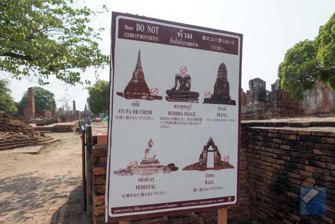 Ayutthaya ruins thailand 22
