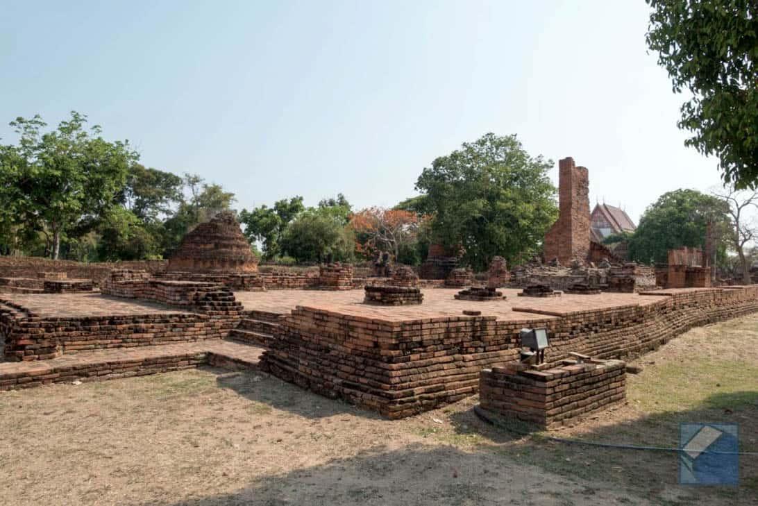 Ayutthaya ruins thailand 24