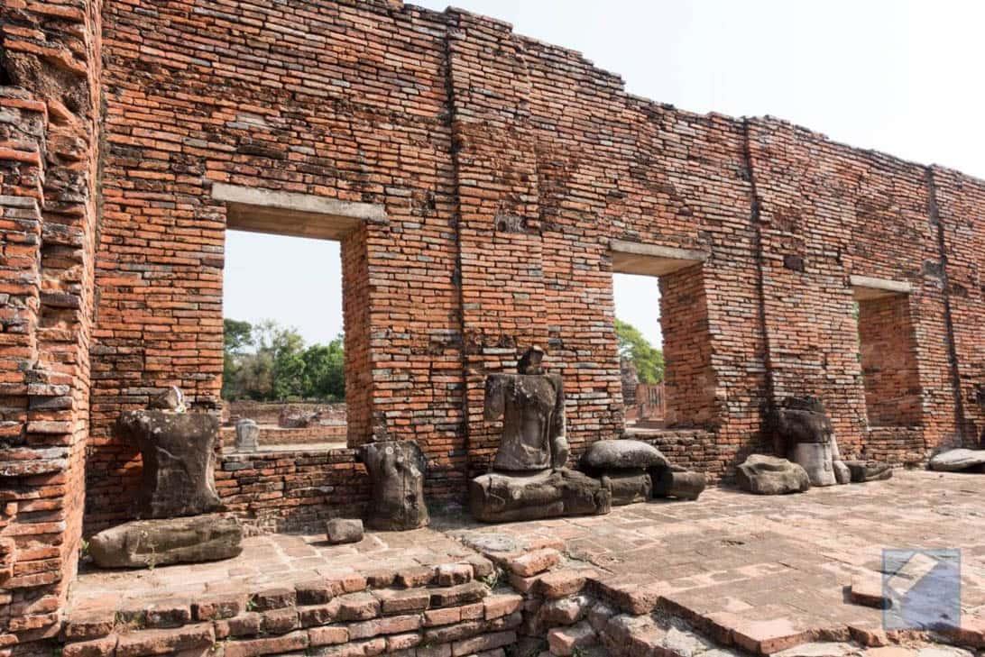 Ayutthaya ruins thailand 27