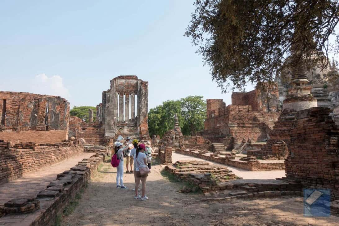 Ayutthaya ruins thailand 29