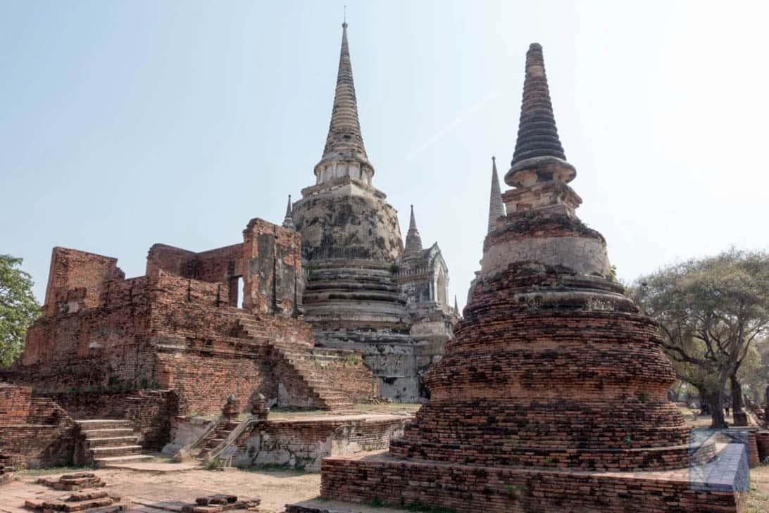 Ayutthaya ruins thailand 30