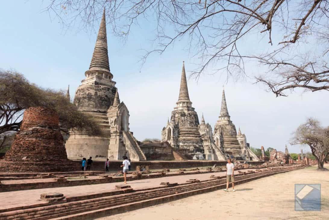 Ayutthaya ruins thailand 35