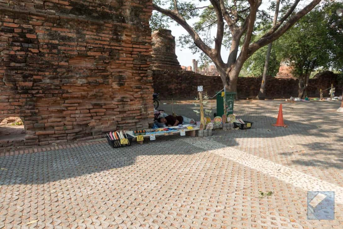 Ayutthaya ruins thailand 38