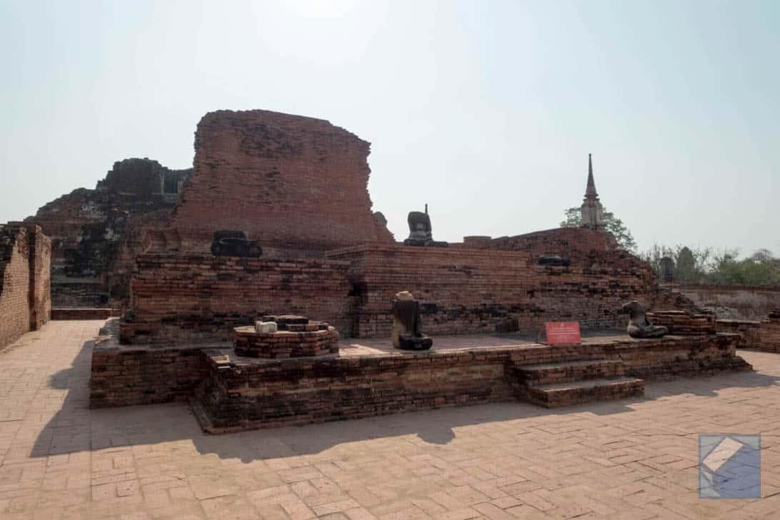 Ayutthaya ruins thailand 42