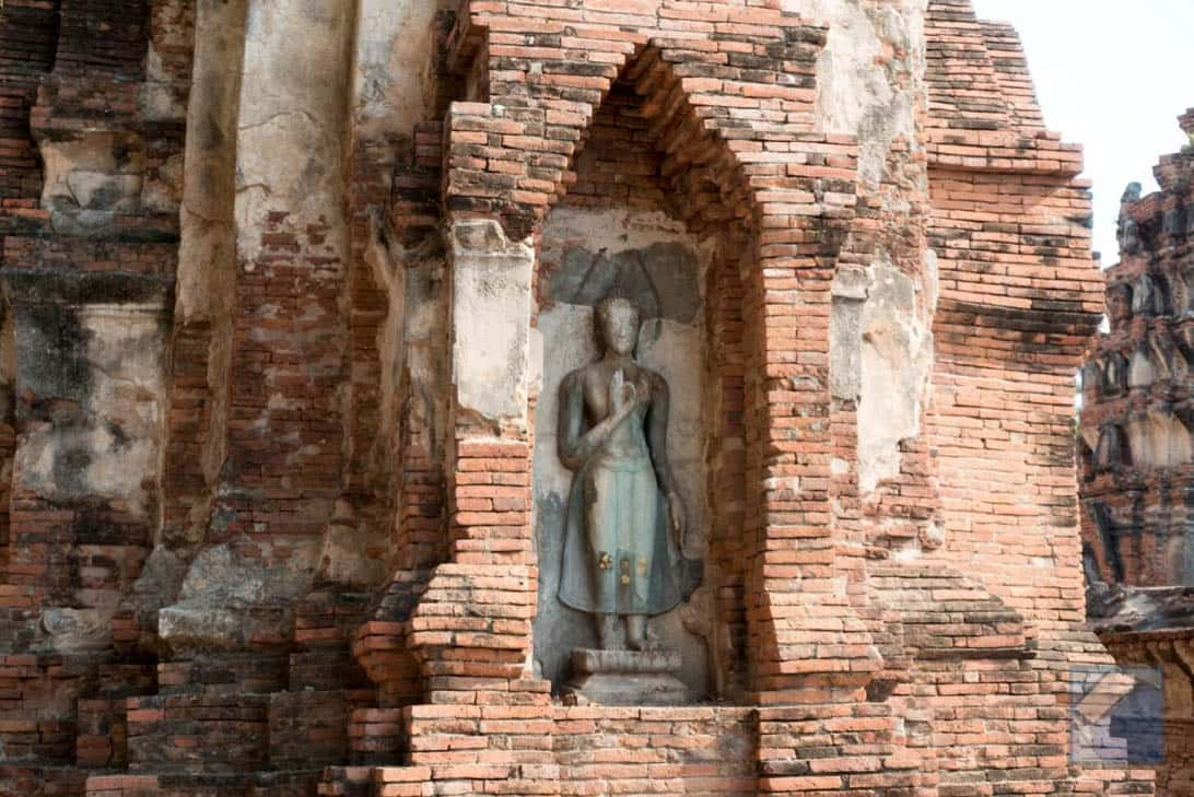 Ayutthaya ruins thailand 43