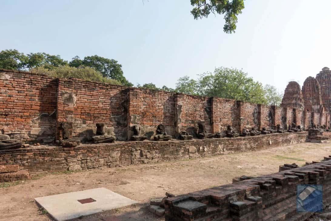 Ayutthaya ruins thailand 44