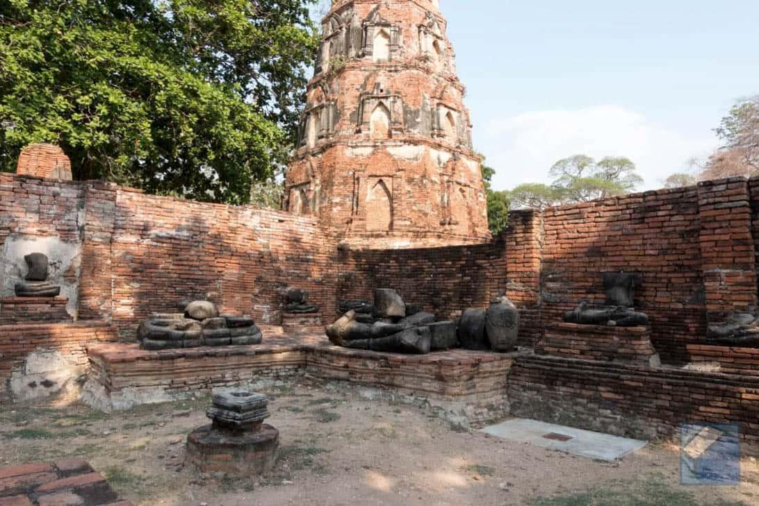 Ayutthaya ruins thailand 45