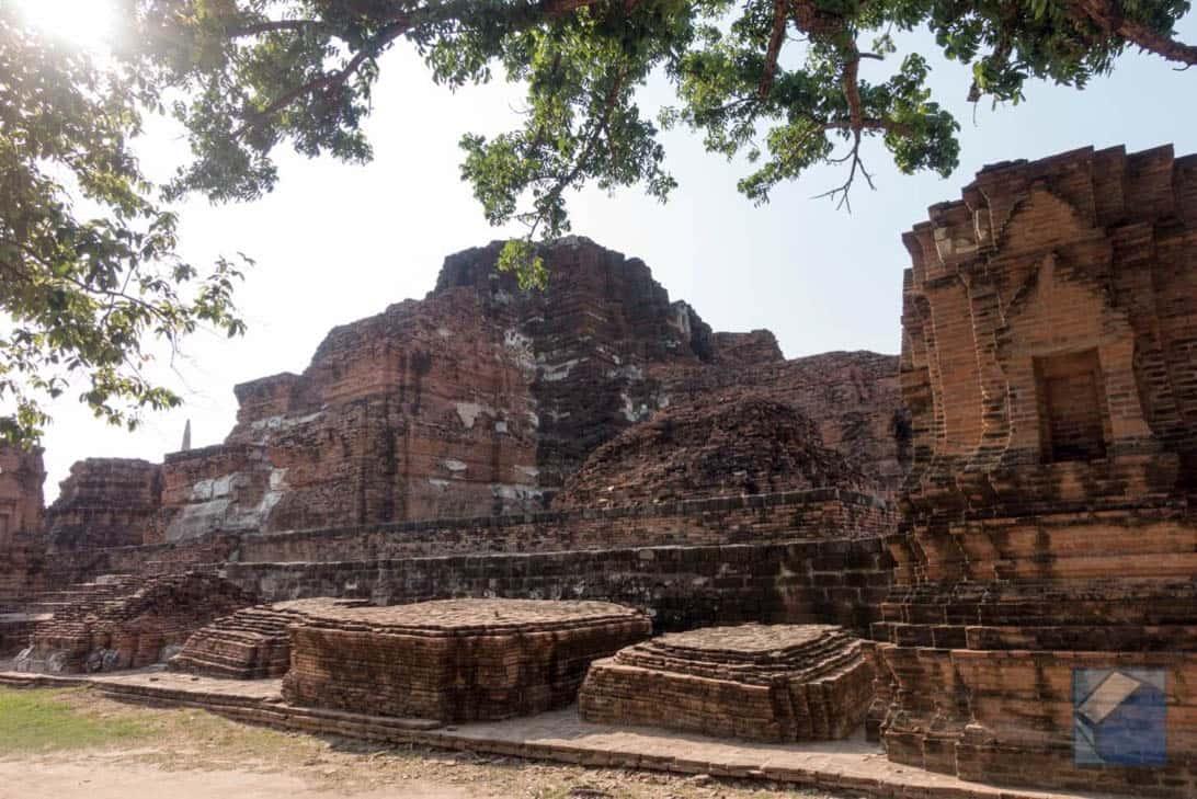 Ayutthaya ruins thailand 46