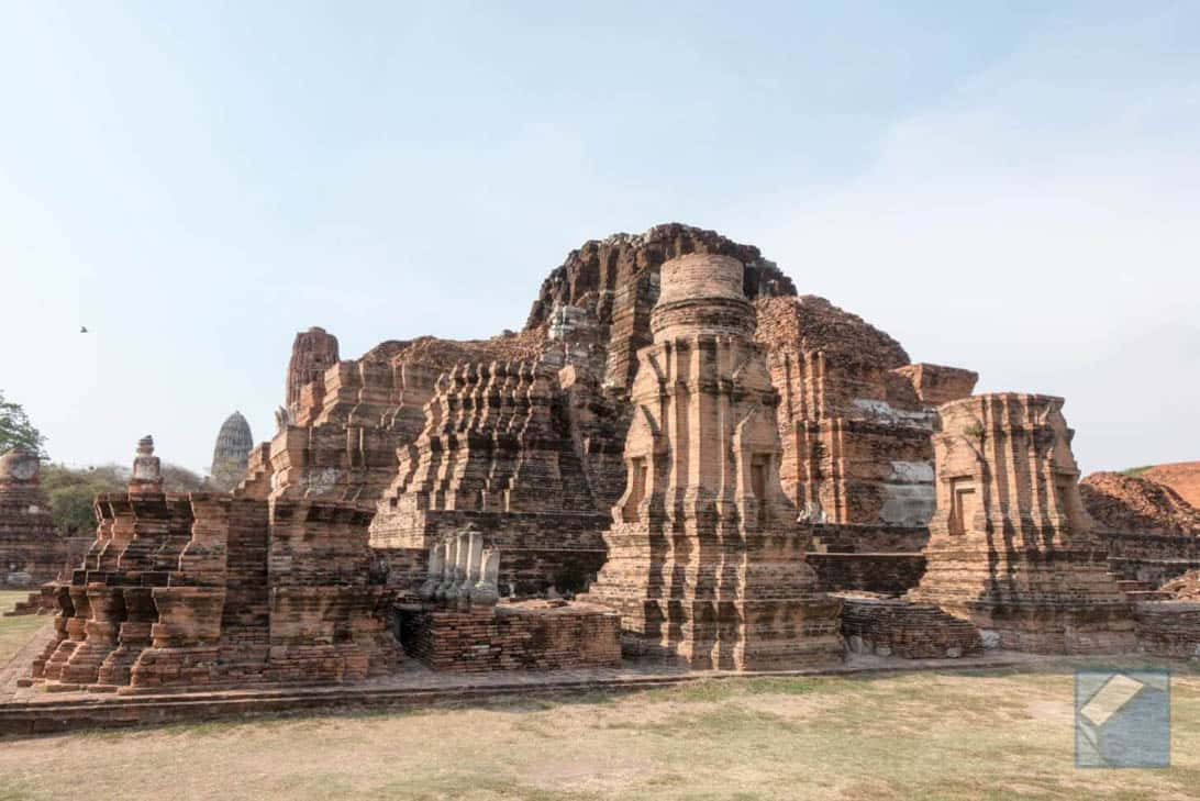 Ayutthaya ruins thailand 47