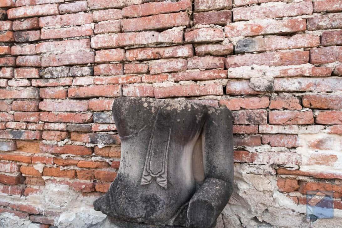 Ayutthaya ruins thailand 48