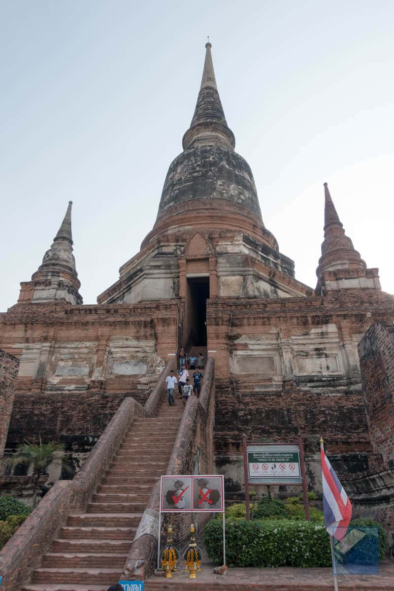 Ayutthaya ruins thailand 62