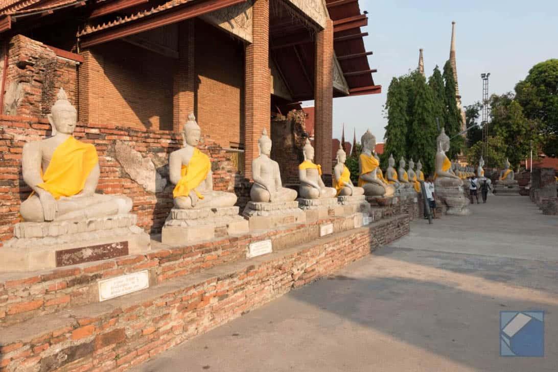 Ayutthaya ruins thailand 71