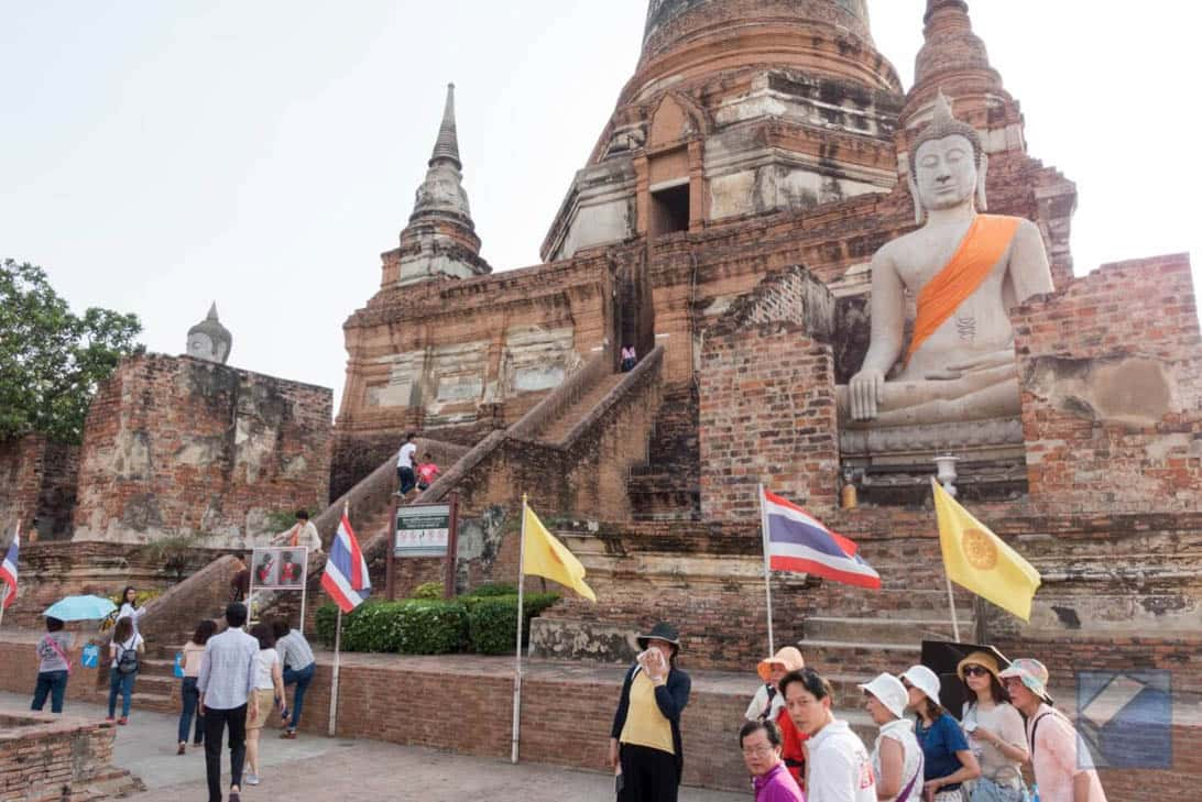 Ayutthaya ruins thailand 72