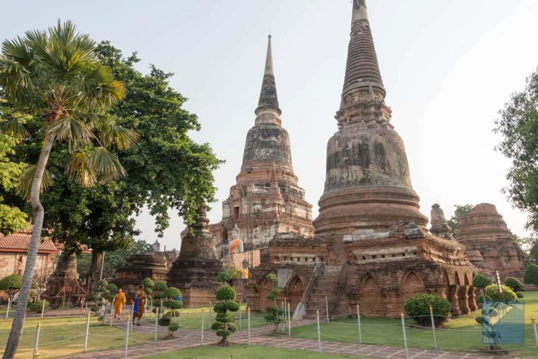Ayutthaya ruins thailand 73