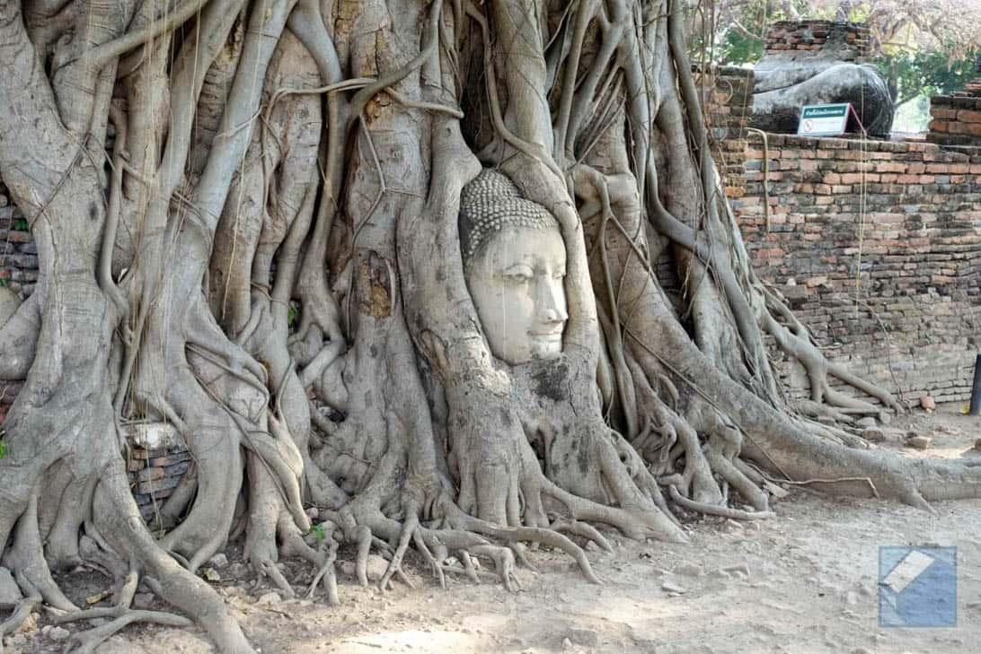 Ayutthaya ruins thailand 74
