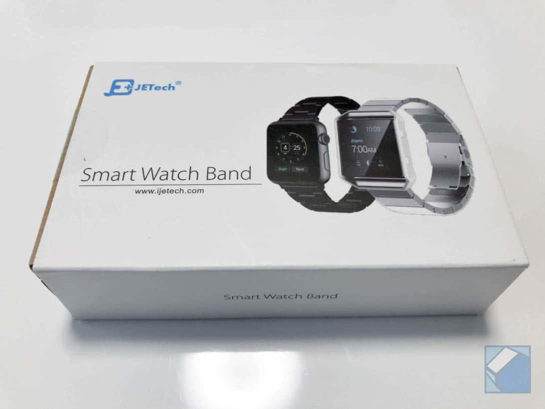 Jetech apple watch band black 1