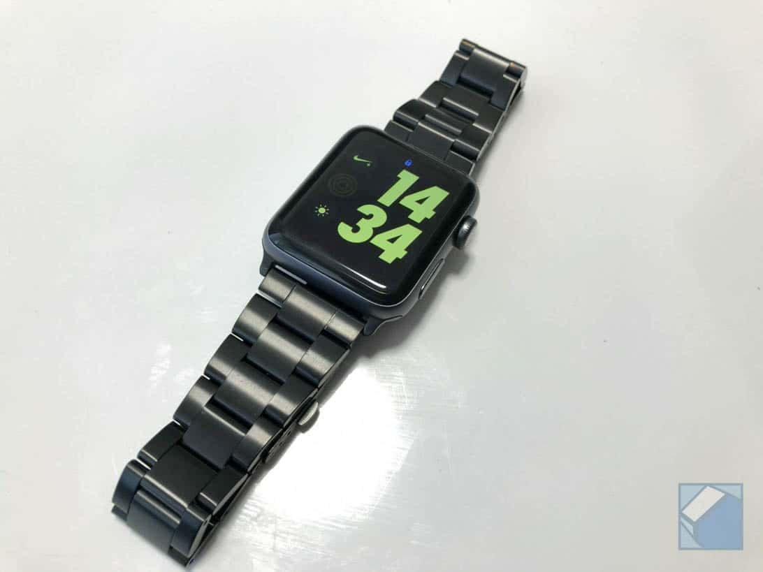 Jetech apple watch band black 12