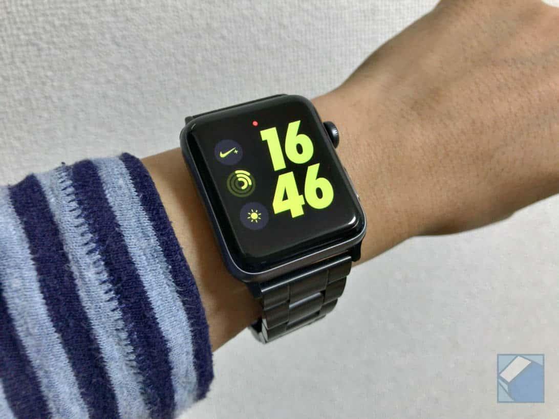 Jetech apple watch band black 18