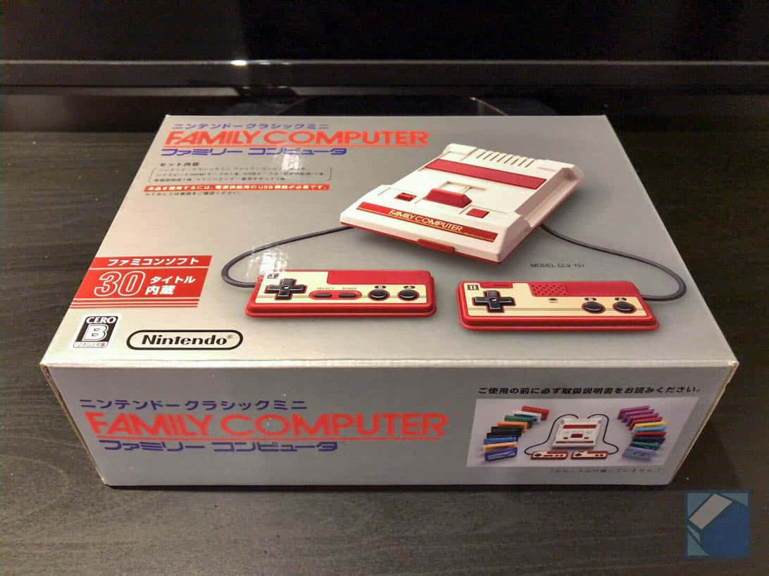 Nintendo classic mini 1