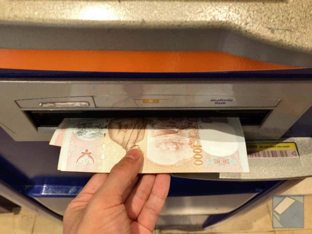 Mastercard overseas cashing thai 10