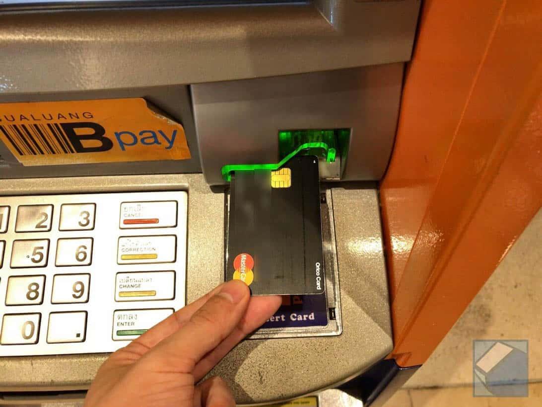 Mastercard overseas cashing thai 2
