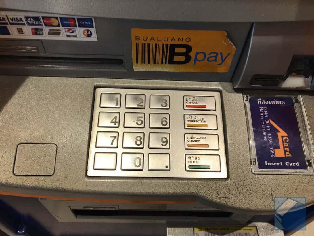 Mastercard overseas cashing thai 4