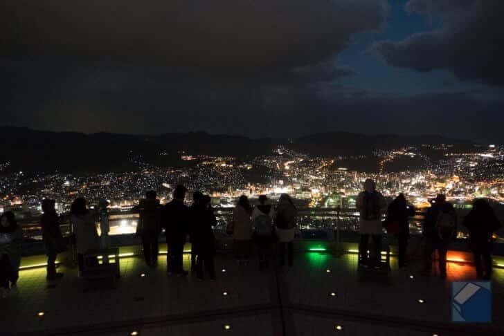 コンパクトデジタルカメラで撮った夜景