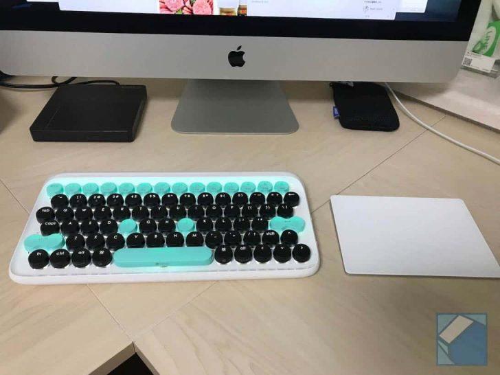 タイプライター型Bluetoothキーボード「lofree」