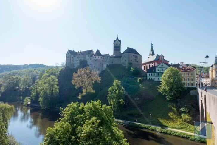 チェコの要塞都市・ロケット城
