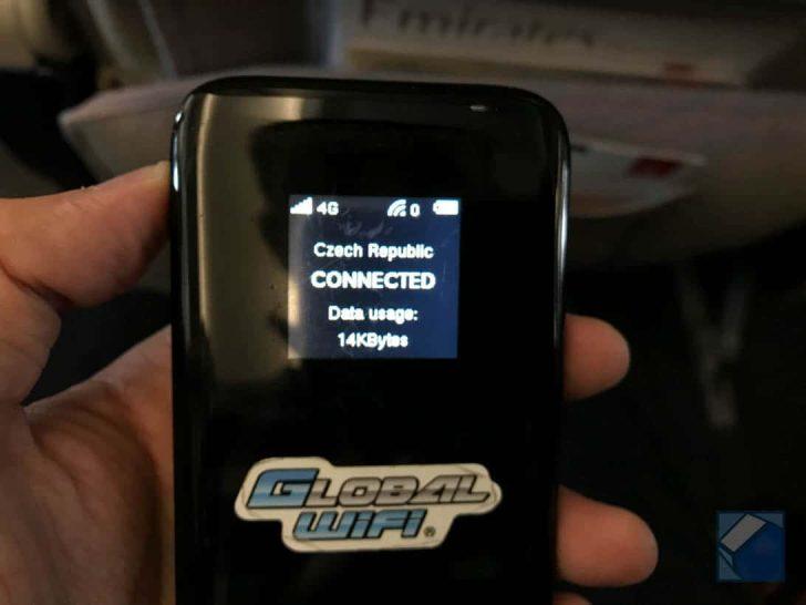 チェコでの通信にグローバルWi-Fiを利用