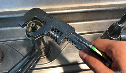 パナソニック食洗機設置のため、分岐水栓CB-SMD6を自力で取り付けたレポート