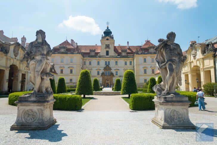 チェコの世界遺産、レドニツェ城とヴァルチツェ城