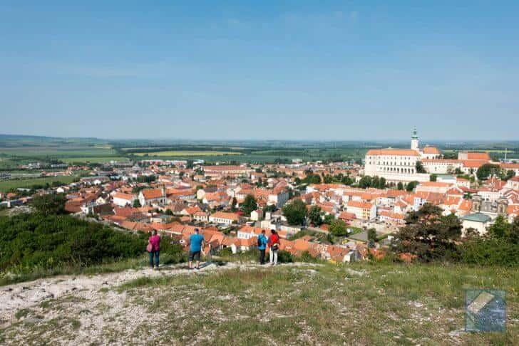 チェコ・ミクロフの聖なる丘