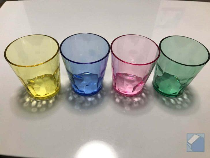 見た目ガラスなのに割れないトライタン樹脂製のグラス