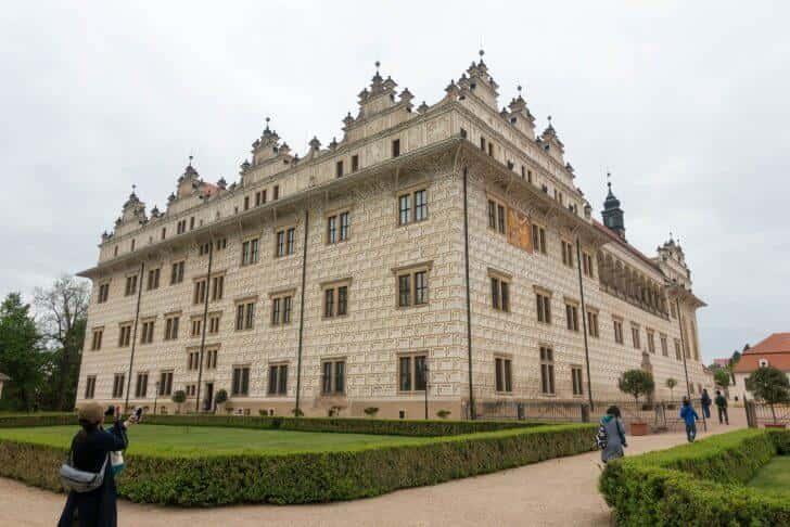 チェコ・リトミシュル城