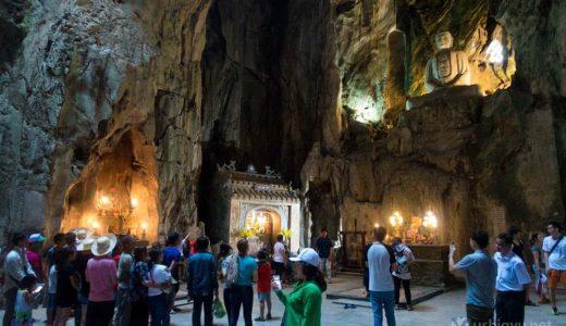 ベトナム・ダナンの絶景スポット「五行山」洞窟内の神秘的な仏像は一見の価値あり