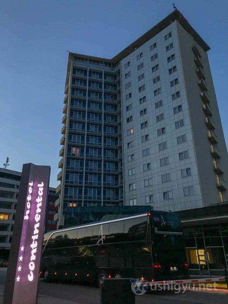 ブルノのホテルコンチネンタル