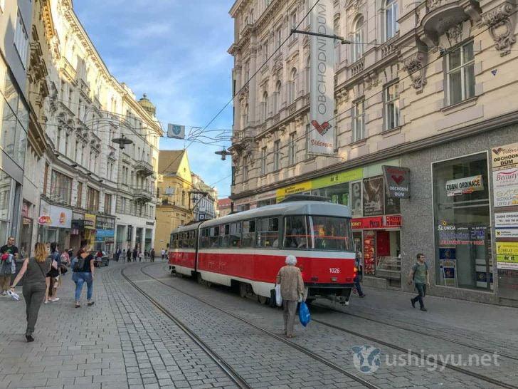 チェコ第二の都市ブルノ
