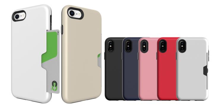 カードが入る耐衝撃iPhoneケース「PhoneForm Golf Light」