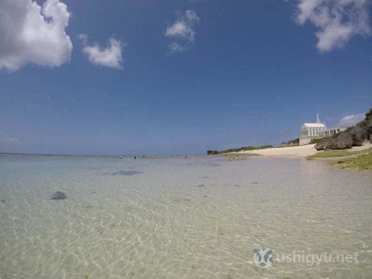 沖縄のビーチをGoProで撮影